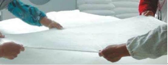 蠶絲被的制作流程
