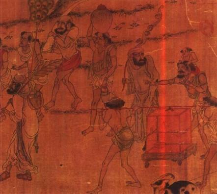 丝绸之路—北魏丝绸利绣的考古发现