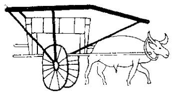 丝路上的牛车